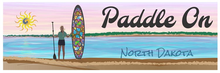 Paddleboard and Kayak Rental in ND logo