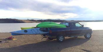 delivery of kayaks in Bismarck and Mandan