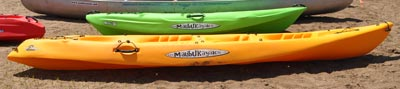 double or tandem kayaks for rent